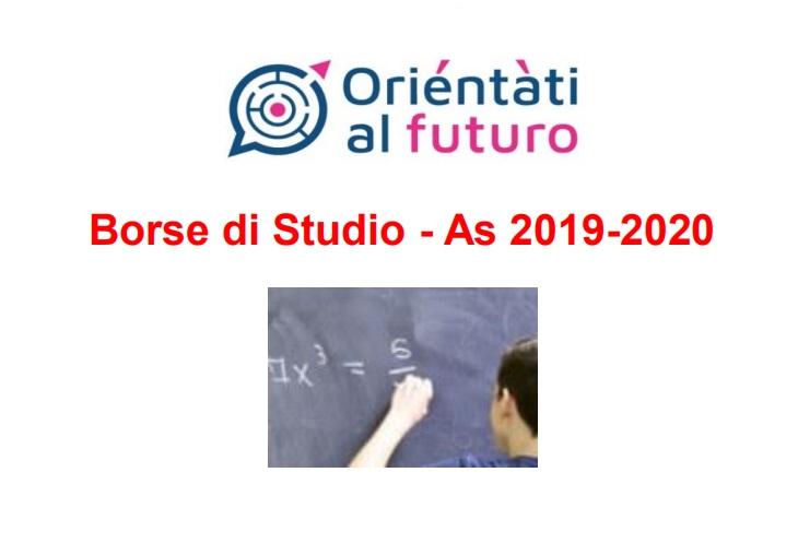 Borse di Studio - As 2019-2020